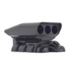 Оригинал                1 ШТ. 3d Печать Двигатель Boost Нагнетатель Модель Украшения Для 1/10 1/8 Rc Авто Запчасти Гусеничный RC4WD Осевой SCX10