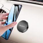 Оригинал              Yesido C38 Мини Круглый Пластина Магнитная панель приборов Авто Держатель телефона Авто Крепление для 4.0-7.0 дюймов Смартфон для iPhone 11 Pro Макс для