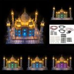 Оригинал              DIY Светодиодный Освещение Набор ТОЛЬКО USB Для LEGO 10256 Тадж-Махал Кирпичи Игрушки