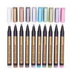 Оригинал              Ручки для рисования маркером 10 цветов с металлической краской