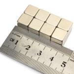 Оригинал              10шт N50 Редкий земля Магнит 10мм Cube блок неодимовый супер сильный холодильник