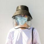 Оригинал              Анти-плевание ведро Шапка Лицевая защита Анти-всплеск безопасности ветрозащитный пылезащитный защита