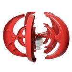 Оригинал              1000 Вт DC 12 В / 24 В Ветроэнергетика Генератор Фонарь Вертикальная Ось Двойная Спираль ветротурбина 5 Ветер Лопасти