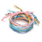 Оригинал              Богемский плетеный браслет Веревка 6 шт Colorful Этнический бюстгальтер
