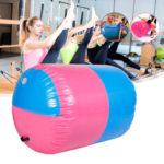 Оригинал              100×85 СМ Надувные ПВХ Ролик Фитнес Гимнастика Крытый Тренажерный Зал Yoga Колонка Терапия Physio Упражнение Набор