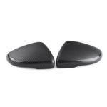 Оригинал              Углеродное волокно Крышка левого / правого крыла двери Зеркало заднего вида Крышка для VW Touran Golf MK6