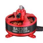 Оригинал              Racerstar RC Бесколлекторный мотор BA2305 1600KV Поддержка 1S 2S 3S 8060 9050 Опора для самолета с неподвижным крылом Дрон