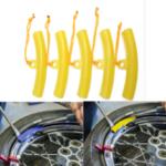 Оригинал              5шт резиновые шины чейнджер гвардии обод протектор колеса шины с изменением обода края DIY Инструмент