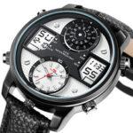 Оригинал              KAT-WATCH 5ATM Водонепроницаемы Dual Дисплей Часы