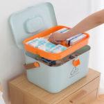 Оригинал              Medicinee Коробка Контейнер для хранения таблеток Бытовая организатор путешествий Первая помощь Чехол