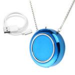 Оригинал              Личный Переносной Воздушный Фильтр Ожерелье Очиститель USB Отрицательный Ион Освежитель Воздуха Портативный
