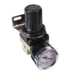 Оригинал              LAIZE SMC AR2000-02 Пневматический регулятор давления Пневматический регулятор давления Клапан 1/4 дюймов Порт для системы сжатого воздуха