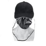 Оригинал              Анти-плевок Защитный чехол для глаз Fisherman Baseball Шапка Крышка-крышка унисекс