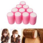 Оригинал              10шт Soft бигуди Волосы ролики щипцы для завивки Женское спальные Волосы укладка