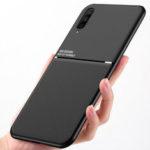 Оригинал              Bakeey Магнитная нескользящая Кожаная Текстура ТПУ Противоударный Защитный Чехол для Samsung Galaxy A50 2019