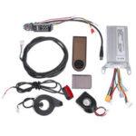 Оригинал              36 В 350 Вт Мотор Контроллер + Панель приборов + Передний / Задний Фонарь Для Xiaomi Scooter Электрический Велосипед E-bike