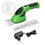 Оригинал              2 в 1 аккумуляторные садовые ножницы для газонокосилки Сад Hedge Триммер