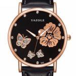 Оригинал              YAZOLE343CrystalElegantДизайнЖенские наручные часы