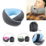 Оригинал              Пена памяти U-образная подушка Шея Поддержка Travel Office Фитнес Расслабляющий Шея Гвардия Спящая Подушка для головы