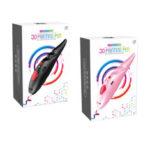Оригинал              Черный / Розовый Низкотемпературная USB зарядка 3D печать Ручка 3D Ручка для нити 1,75 мм