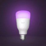Оригинал              3шт Yeelight 1S YLDP13YL 8.5 Вт RBGW Smart LED Лампа Работа с Homekit AC100-240V (продукт экосистемы Xiaomi)