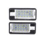 Оригинал              Пара 12В LED Номер лицензии Пластина Фары Лампа Для Audi A4 A6 S3 Q7 RS4 RS6