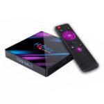 Оригинал              H96 MAX RK3318 4GB RAM 64GB ROM 5G WIFI bluetooth 4.0 Android 10.0 4K VP9 H.265 TV Коробка Поддержка Youtube 4K