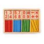 Оригинал              Деревянный номер Математика Раннее обучение Подсчет математических игр Развивающие дети
