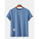 Оригинал              Мужские повседневные футболки с короткими рукавами и короткими рукавами Little Label