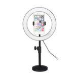 Оригинал              6500K 120 LED Ring Light Dimmable Набор Подставка для телефона Зажим для видеостудии Макияж