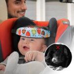 Оригинал              Детская головная опора для коляски Sleep Nap Aid Ремень безопасности Авто Крепление сиденья Ремень US