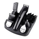 Оригинал              6 в 1 электрический Волосы клипер аккумуляторная борода Уши нос Волосы Триммер бритва