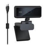 Оригинал              Веб-камера 1080P Web камера с Микрофон компьютерным ПК с автофокусом Веб-камера для видеосвязи Онлайн-трансляция