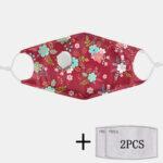 Оригинал              2шт PM2.5 Фильтр антилопы одноразовые маски с дыхательной маской