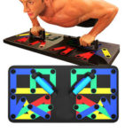 Оригинал              14 в 1 многофункциональный складной Push Up Board Home Спортзал Тренировка мышц Фитнес Упражнение Набор