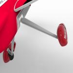Оригинал              Volantex Sabre 920 756-2 RC Самолет Запасная часть Переднее шасси