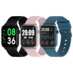 Оригинал              TICWRIS GTS Проверка температуры тела Здоровье Smart Watch Кислород в крови Монитор Браслет с длительным временем ожидания IP68