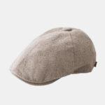 Оригинал              Мужские хлопковые беретные кепки Casual На открытом воздухе Visor Forward Шапка