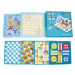 Оригинал              6 в 1 Многофункциональная игра Шахматы настольные игры Семейные игры Наука и образование Детские игрушки