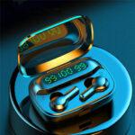Оригинал              Bakeey R3 TWS LED Питание Дисплей Сенсорное управление Беспроводная связь Hi-Fi Стерео Bluetooth 5.0 Водонепроницаемы Шумоподавление Clear Call Наушник Наушн