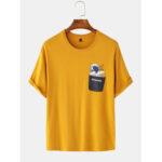 Оригинал              Повседневная футболка с капюшоном из хлопка