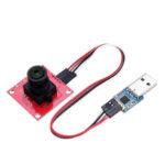 Оригинал              Цветной модуль OV2640 камера Последовательный порт JPEG Выход с платой преобразователя Geekcreit для Arduino Raspberry Pi ARM MCU – продукты, которые работают с
