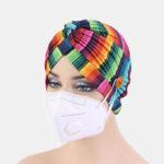 Оригинал              Печатные разноцветные шапочки в национальном стиле, монтируемые на кнопку, предотвращают удушение