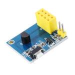 Оригинал              ESP8266 ESP-01 ESP-01S DS18B20 Температура WiFi Беспроводной узел Модуль Интернет вещей