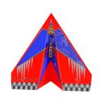 Оригинал              1024mm Wingspan PP RC Airplne Бумажный набор для начинающих желтый / красный