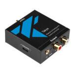 Оригинал              Оптика в RCA Адаптер цифро-аналогового преобразователя для цифровых телевизоров высокой четкости Apple Google Регулируемая громкость звука Стер