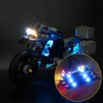 Оригинал              DIY Светодиодный Освещение Набор ТОЛЬКО ДЛЯ LEGO 42063 Для BMW R 1200 GS Приключенческая Техника Серии Мотоциклы Кирпичи Игрушки