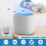 Оригинал              Электрическая мухоловка Zapper от насекомых-убийц LED Ловушка для борьбы с вредителями USB Лампа