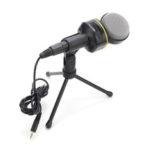 Оригинал              SF-930 3,5 мм Studio Профессиональная конденсаторная звукозапись Микрофон с держателем Штатив для портативных ПК