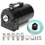 Оригинал              300мл Двигатель Резервуар для улавливания бачка-сапуна Масло Ловушка с воздушным фильтром черного цвета